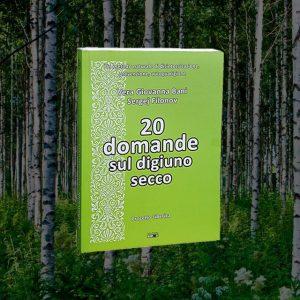 "<h1>Libro ""20 domande sul digiuno secco""</h1><h1>Sergej Filonov<br>Vera Bani</h1> <em>(spedizione gratis)</em>"