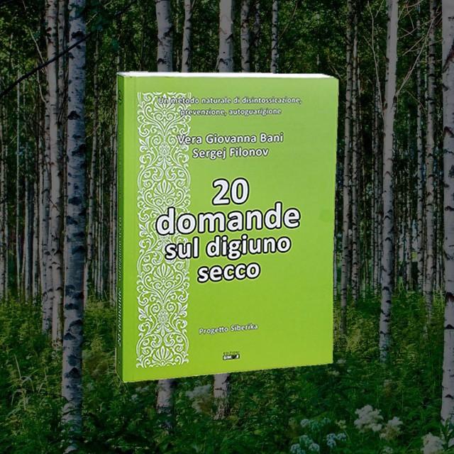 """Vera Bani, Sergej Filonov - Libro """"20 domande sul digiuno secco"""""""
