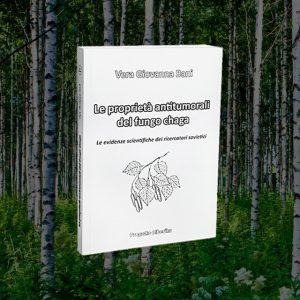 """<h1>Libro """"Le proprietà antitumorali<br> del fungo chaga"""" –<br> Vera Bani</h1> <em>(spedizione per l'italia gratis)</em>"""