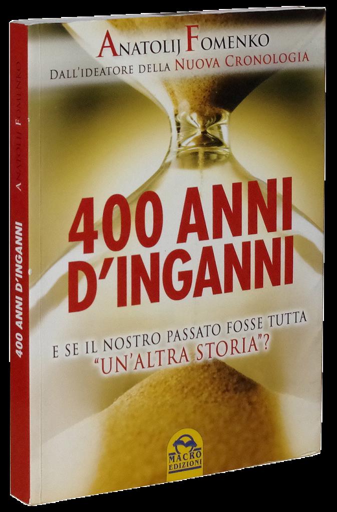 cover 400 anni di inganni